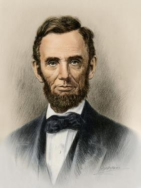Portrait of President Abraham Lincoln