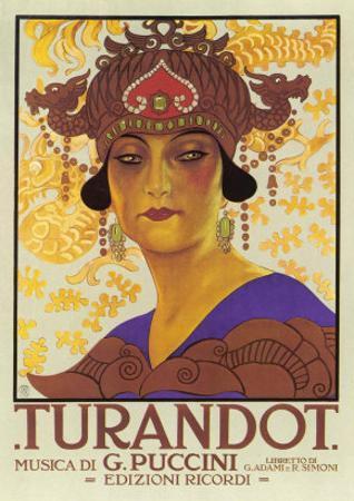 Portrait of Princess Turandot