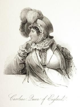 Portrait of Queen Caroline of England