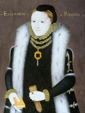 Portrait of Queen Elizabeth I (1533-1603) C.1558
