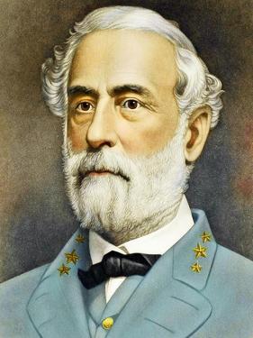 Portrait of Robert Edward Lee C. 1870