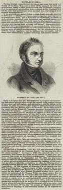 Portrait of Rowland Hill