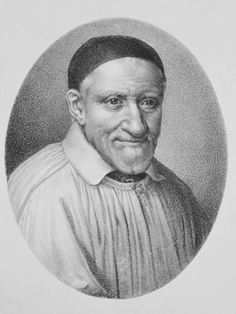 Portrait of Saint Vincent De Paul