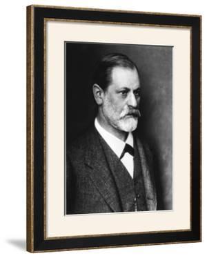 Portrait of Sigmund Freud circa 1900
