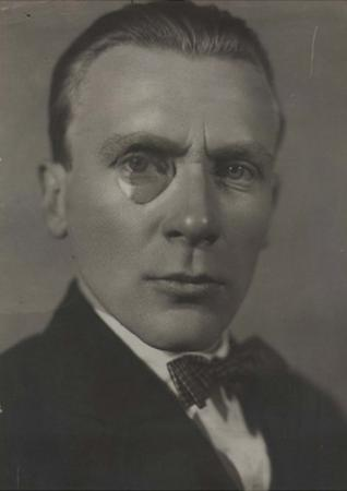 Portrait of the Author Mikhail Bulgakov (1891-194), Early 1920s