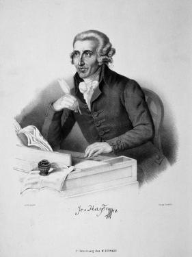 Portrait of the Composer Joseph Haydn (1732-180), 18th Century