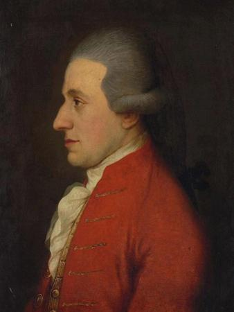 Portrait of the Composer Wolfgang Amadeus Mozart (Hagenauer Mozar), 1780S