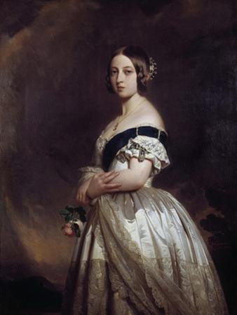 Portrait of the Queen Victoria I by Franz Xavier Winterhalter