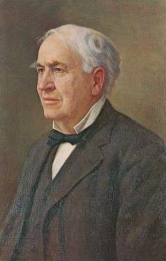 Portrait of Thomas Edison