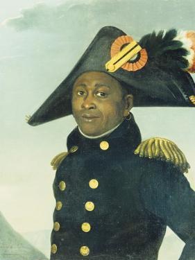 Portrait of Toussaint Louverture. Giradin, 1913