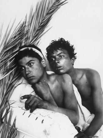 Portrait of Two Sicilian Youth