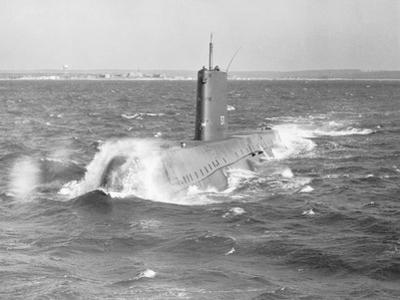 Portrait of USS Nautilus Submarine