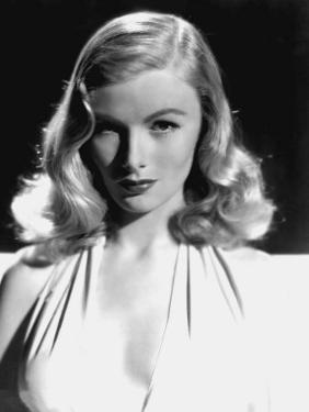 Portrait of Veronica Lake, as Seen in the Film This Gun for Hire, 1942