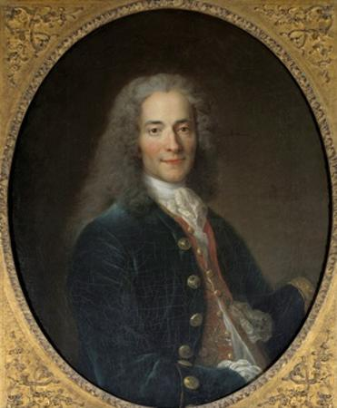 Portrait of Voltaire at the Age of 24