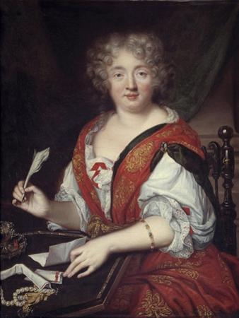 Portrait Once Identified as Madame De Sevigne