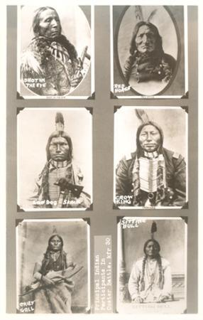 Portraits of Indian Braves