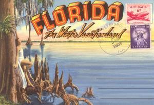 Postcard Folder, Florida