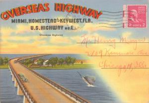 Postcard Folder, Overseas Highway
