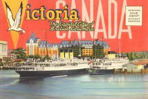 Postcard Folder, Victoria, British Columbia