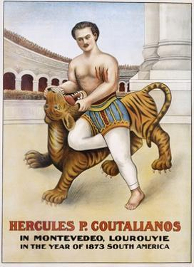 Poster Advertisement for Hercules P. Coutalianos