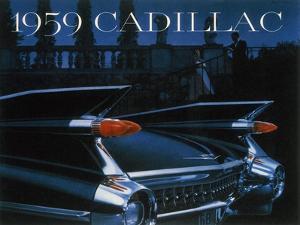 Poster Advertising a Cadillac, 1959