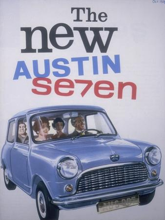 Poster Advertising Austin Cars, 1959