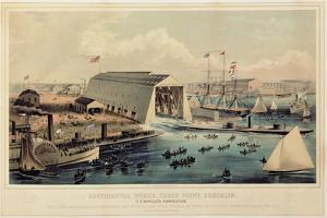 Poster Advertising 'Continental Works, Greenpoint Brooklyn', Published by Endicott and Co