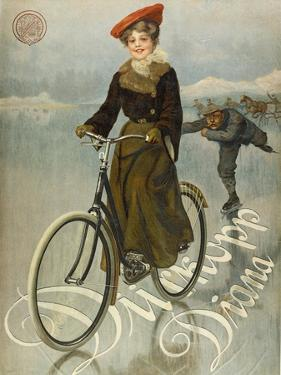 Poster Advertising Duerkopp Bicycles, 1905