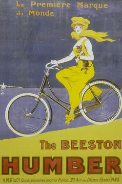 Poster Advertising Humber Bicycles, Late 19th-Early 20th Century