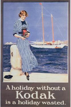 Poster Advertising Kodak Cameras, C.1930