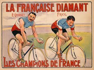 Poster Advertising 'La Francaise Diamant', C.1905