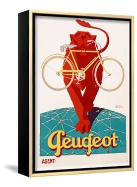 Poster Advertising Peugeot