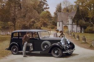 Poster Advertising Rolls-Royce Cars, 1939