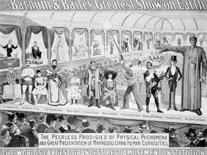 Poster Advertising, The Barnum and Bailey Greatest Show on Earth