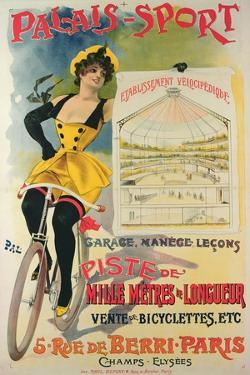 Poster Advertising the Palais-Sport in Paris, C.1895