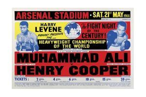 Poster Advertising the Second Fight Between Muhammad Ali and Henry Cooper, London, 21st May, 1966