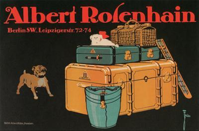 Poster for Albert Rosenhain Trunk