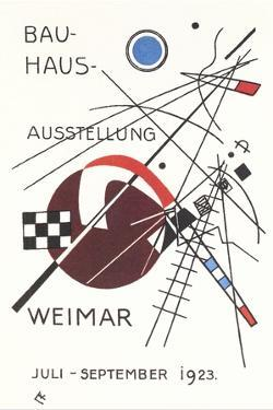 Poster for Bauhaus Exhibition