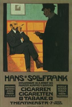 Poster for Bavarian Tobacco Store