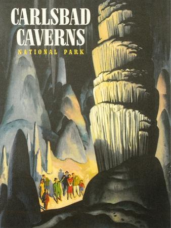 Poster for Carlsbad Caverns