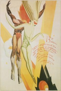 Poster for Cleveland Arts Festival, 1926