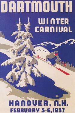 Poster for Dartmouth Winter Carnival