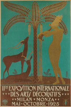 Poster for Decorative Arts Exhibition
