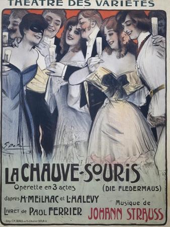 Poster for Die Fledermaus