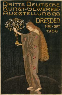 Poster for Dresden Art Exhibition