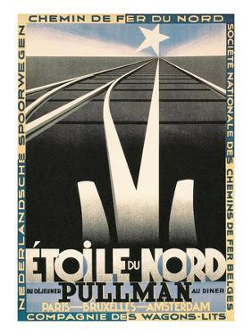 Poster for European Railways, Tracks