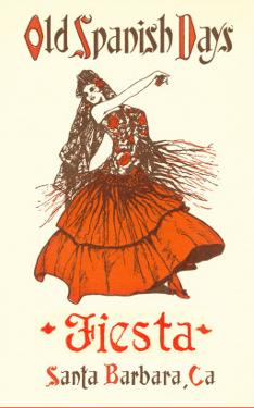 Poster for Fiesta Days, Santa Barbara, California