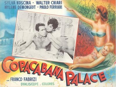 Poster for Fifties Italian Movie