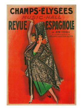 Poster for Flamenco Dancers