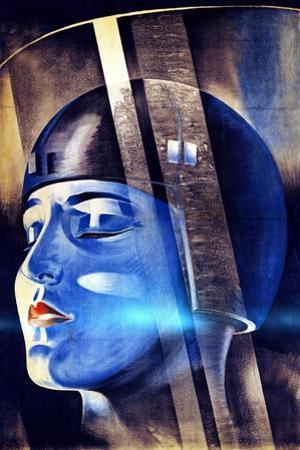 Poster for Fritz Lang's Film Metropolis